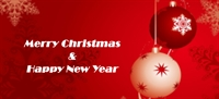 chrismas and new year