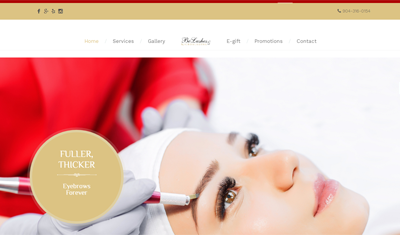 Website Design and Marketing for Nail Salon, Beauty Salons, Hair ...