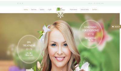 Portfolio - GDS Viethelp Group - Web design for salon