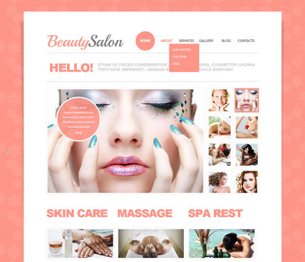 Beautiful Spa Theme