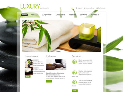 Luxury Salon Theme